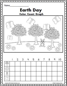 Earth Day Freebie! Making Words & Word Search activities