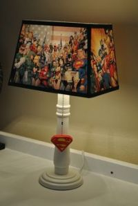 1000+ images about Lampes on Pinterest | Superhero Lamp ...