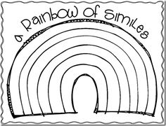 Simile, Poetry unit and Poem on Pinterest