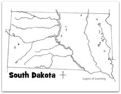 South dakota, State parks and Guessing games on Pinterest