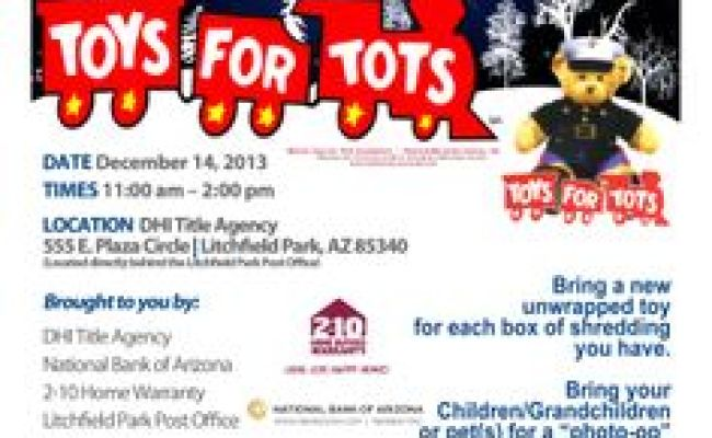 Toys For Tots Fundraiser Donate A Toy And Receive 500