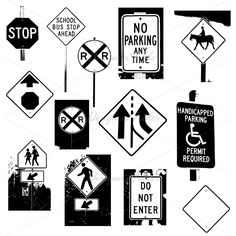 English worksheet: TRAFFIC SIGNS: Picture Dictionary