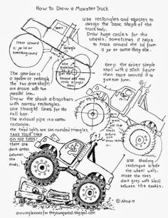 How To Draw A Train Caboose, Worksheet and Lesson, Read