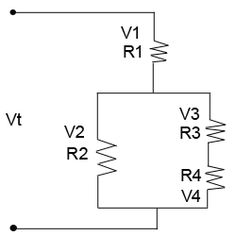 Ohm's Law Series-Parallel Circuits Calculation