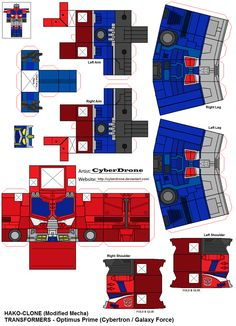 PaperPezzy Optimus Prime 39LAM by CyberDrone on deviantART
