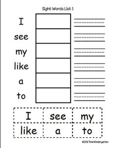 VERY simple sentences for beginning readers with common