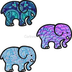 Awesome Cute Binder Wallpapers That Are Printable Ivory Ella Elephant Sticker Lilly Pulitzer Inspired Print