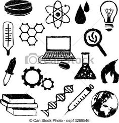 stock-vector-science-background-science-drawing-line-on