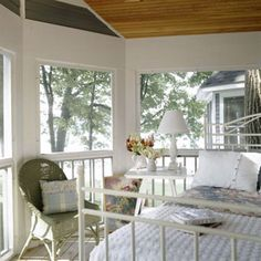 Sleeping porch on Pinterest