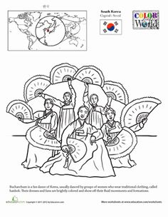 1000+ images about Korean Coloring Pages on Pinterest