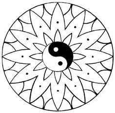 Simple mandala, Mandalas and Simple on Pinterest