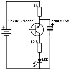 LED Christmas Lights Circuit Diagram and Working