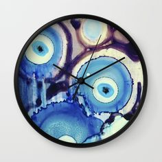 Evil Eye Tears Throw Pillow Watercolors Studios And Home