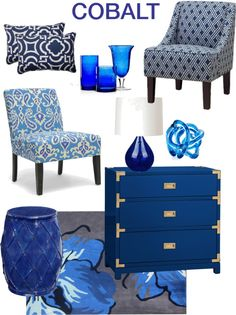 Color Series; Decorating With Cobalt Blue Cobalt Blue Paint