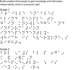1000+ images about MINIMALISM BRAILLE on Pinterest