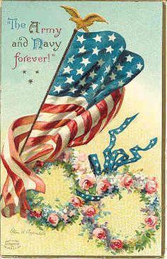 Vintage 4th of July  Patriotic Postcards on Pinterest