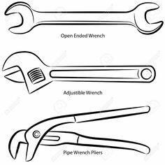 FIG. 1. TYPES OF HAMMERS. Ball-peen hammer, straight-peen
