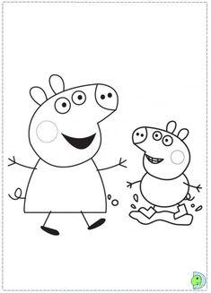 Peppa Pig Thank You Card, Birthday Party, Printable PDF