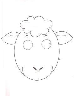 Maestra de Infantil: Caretas de animales para colorear e