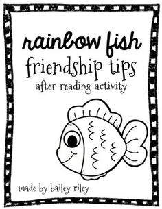 Lets Talk!: The Rainbow Fish! Speech & Language Activities