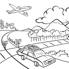 Town Coloring Pages Do you want to learn about what can be