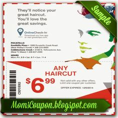 Great Clips For January Coupons 2015 Pinterest Great