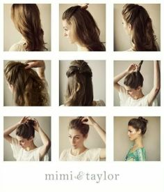 Chignon Bun Hairstyle Simple Different Bun Hairstyle Ideas For