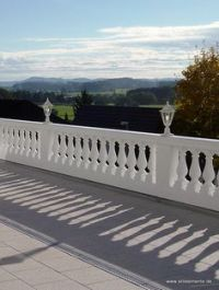 cement ballisters and railing | Home Balustrades Balusters ...