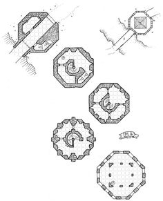 Dwarves Stronghold by Mike Schley. Cartographers' Guild