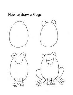 How to draw a simple mouse using directed or guided