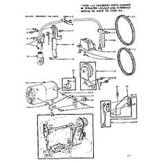 Machine head, Sewing machines and Sewing on Pinterest