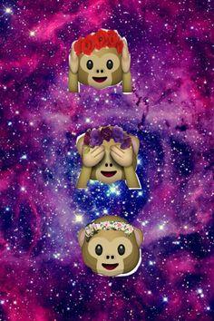 Cute Emoji Wallpapers Monkeys Monkey Google And Search On Pinterest