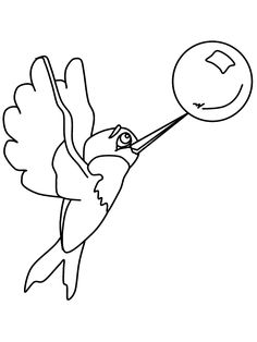 Hummingbirds, Coloring and Coloring pages on Pinterest