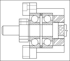 Bipolar stepper controller using the couple L297/L6203