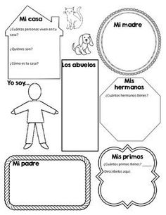 Spanish classroom objects #matching #spanishworksheets #