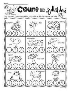 1000+ images about Kindergarten worksheets on Pinterest