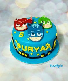PJ Masks cake Superheros Gekko Catboy  Owelette www