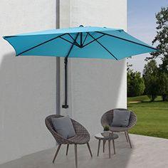 parasol mural casoria parasol deporte pour le balcon m inclinable