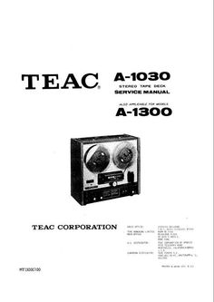 1000+ images about Reel to Reel Tape Recorders Service