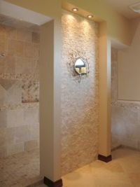 Walk Through Shower Design Ideas, Pictures, Remodel, and ...