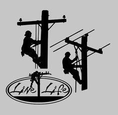 Electrical Lineman SVG File,Electrician SVG File,Lineman