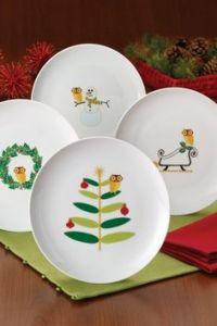 Christmas Dinnerware on Pinterest