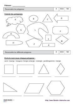 Voici mes premiers affichages en mathématiques (géométrie