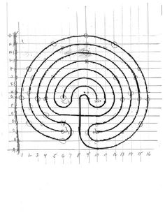 nice revision in drawing up your own labyrinth plan, even