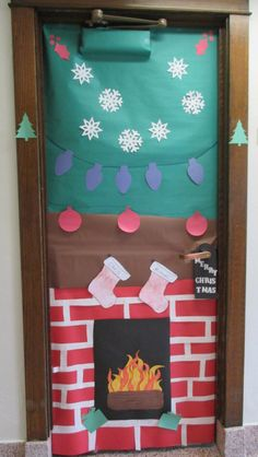1000+ images about Holiday Door Decorations on Pinterest
