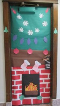 1000+ images about Holiday Door Decorations on Pinterest ...