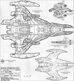 Battlestar Galactica Ship Schematics Andromeda Ship