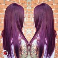 Satin Hair Color Violet Brown 4V | my new hairstyle ...
