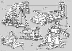 Leonardo da Vinci Catapult, Helicopter, and Ornithopter