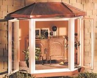 Bay with copper roof